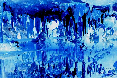 Blue Worlds #B (24x16)