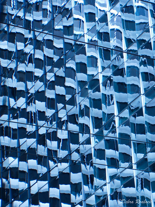 Blue Worlds #G (16x20)