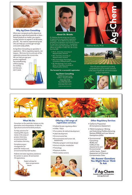 AG CHEM Tri-Fold Brochure