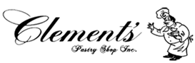 Clements pastry Shop Logo