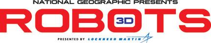 National Geographic Robots 3D Title Treatment