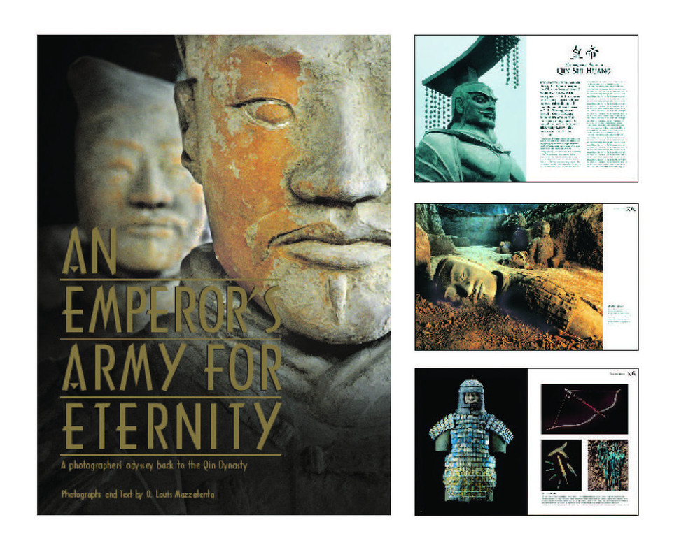 An Emperor's Army for Eternity Book