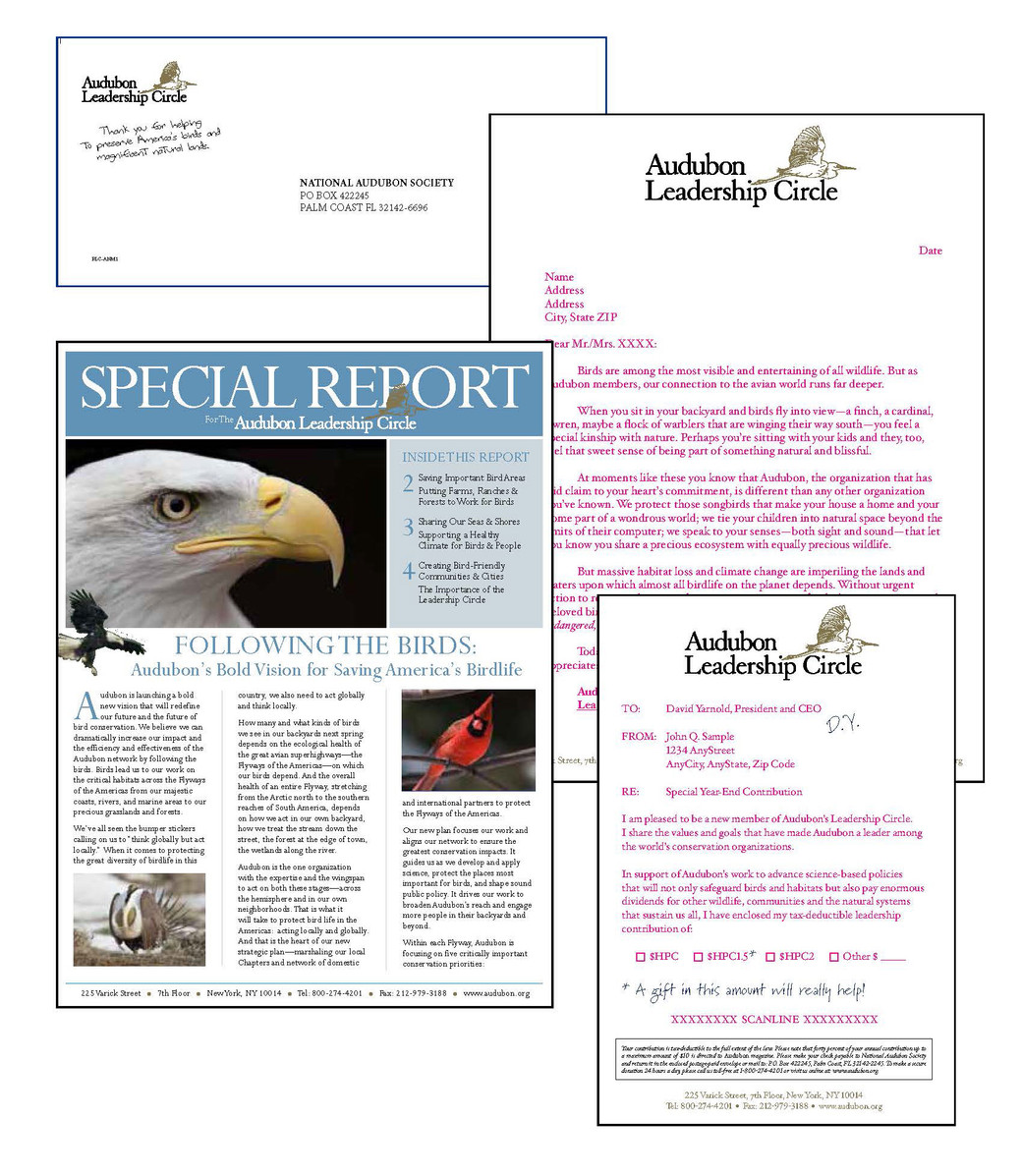 Audubon Membership Package with Newsletter