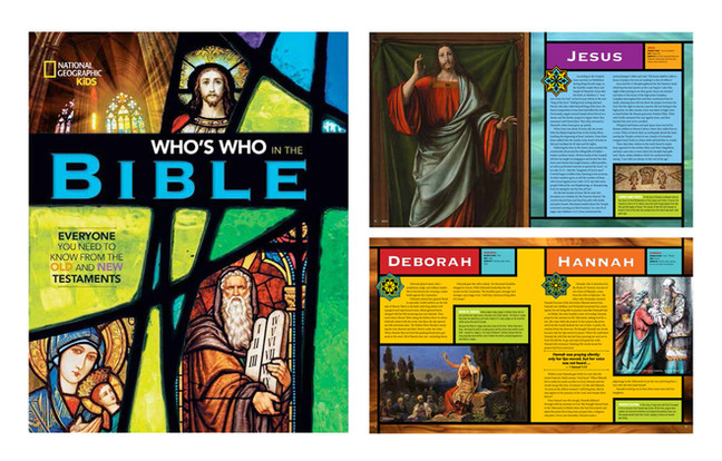 National Geographic Bible Book