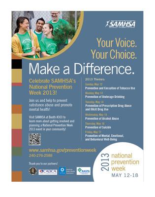 SAMHSA Make A Difference