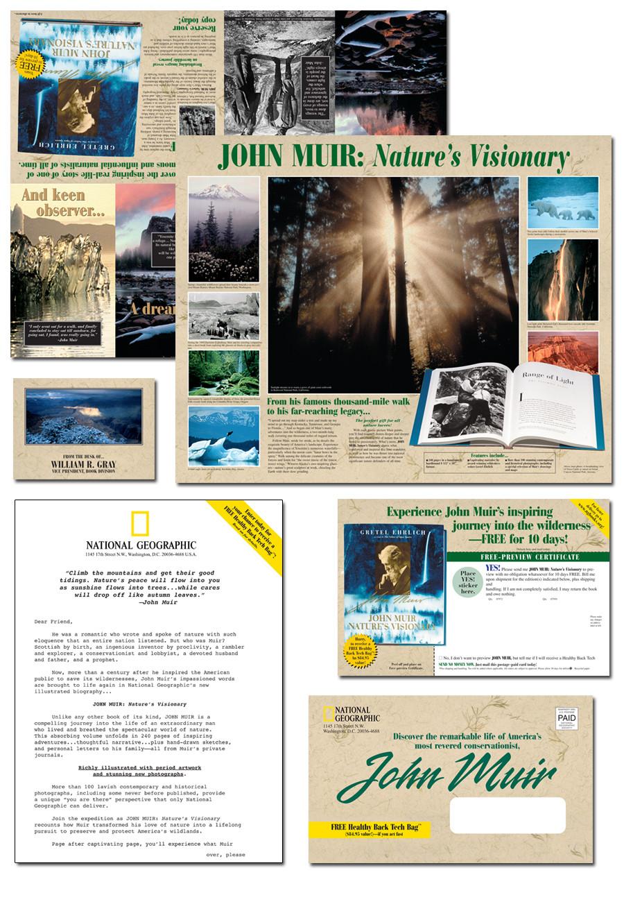 Naitonal Geographic John Muier Book Promotion