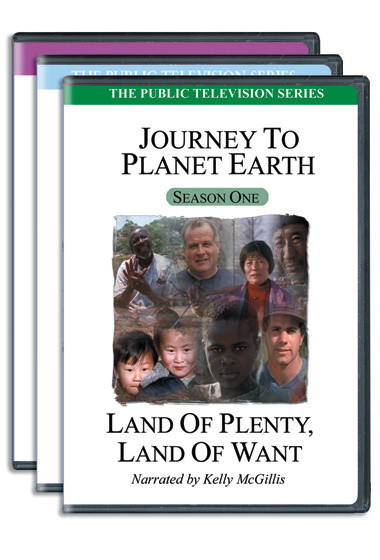 Journey To Planet Earth DVD Series