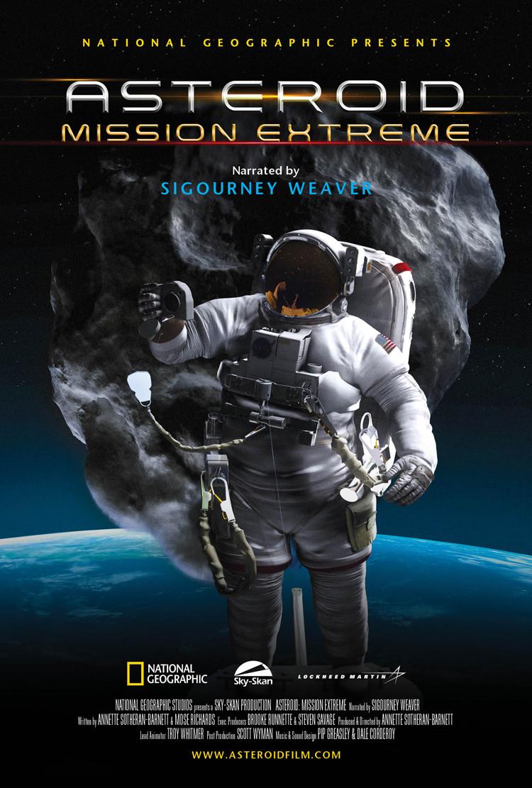 Asteroid Key Art Poster