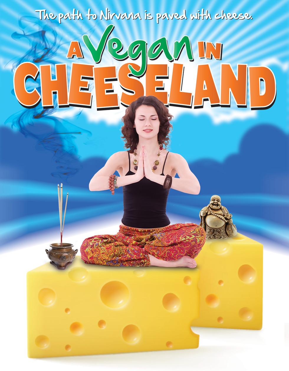 A Vegan in Cheeseland Key Art Poster