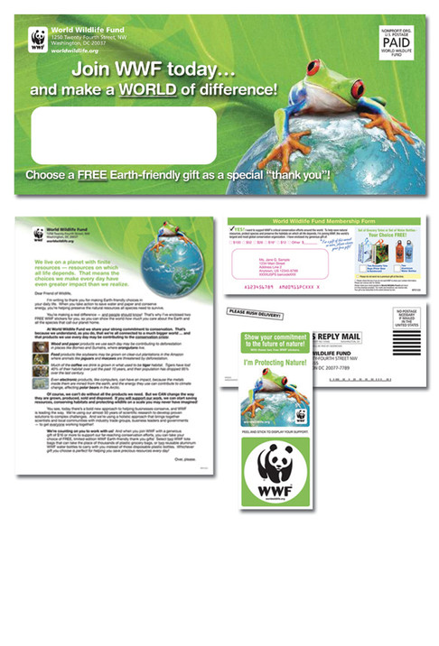WWF Acquistion Mailing