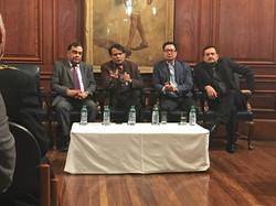 Interactions with Minister Prabhu & Rijiju