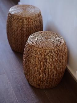 海悠居 :中式藤凳