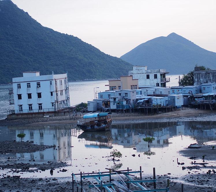 海悠居,海邊民宿 :露台外望實景拍攝