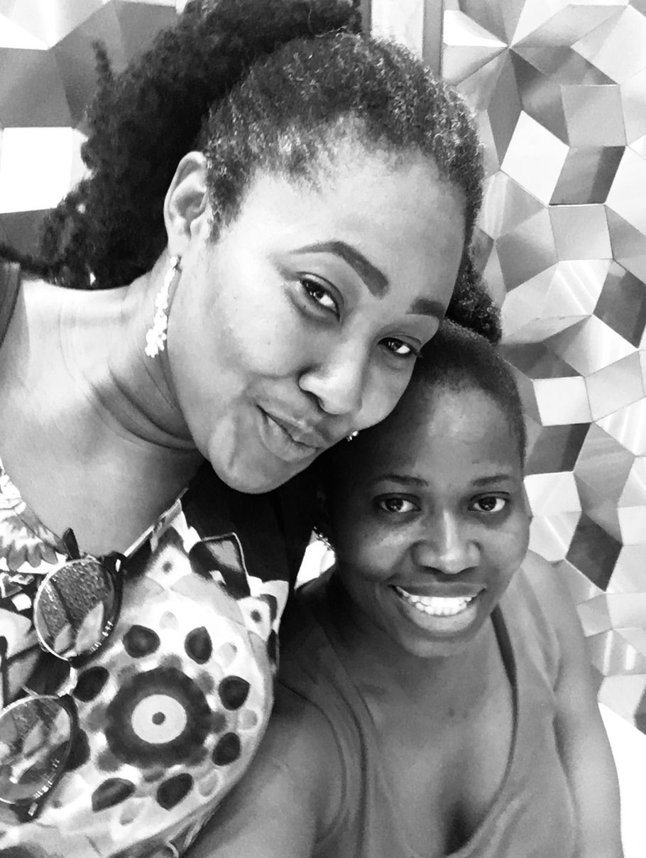 Chidinma Olajide and Sarah Iyang smiling | Grieving the Death of a friend | Balanced Wheel