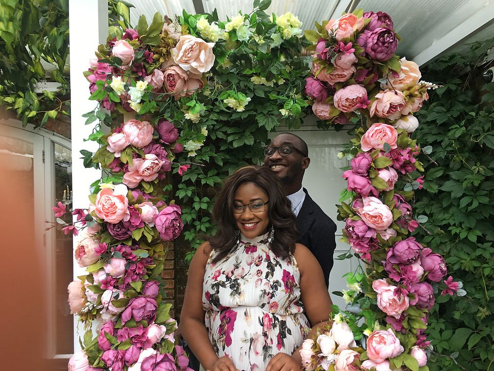 Tolulope Olajide and Chidinma Olajide (onuzo), pregnant, happy, new addition to the family, sibling, new baby   balanced Wheel   BW