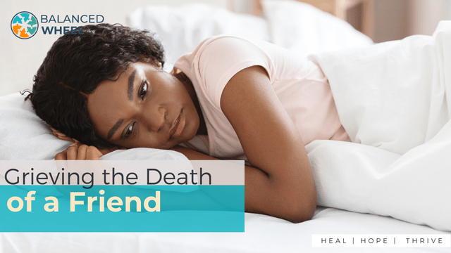 Depressed black woman laying alone in bed, hugging her pillow, feeling lonely, panorama. Young african american lady dont sleep at night, feeling lonely, missing her lover or having personal crisis | Grieving the Death of a friend | Balanced Wheel
