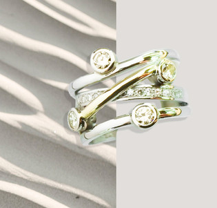 Twist-over ring