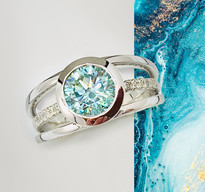 Ocean 3-band ring