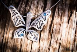 Meteorite butterfly