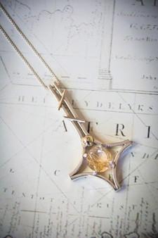 Rutilated pendant
