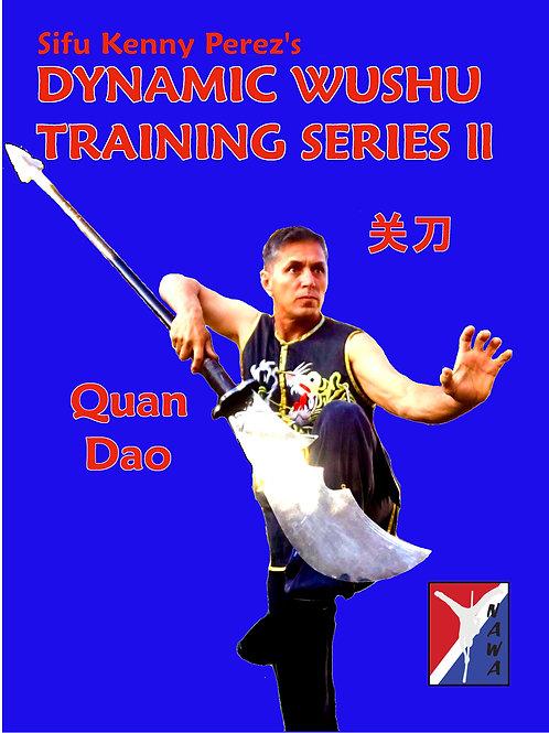 Wushu Guan Dao Routine