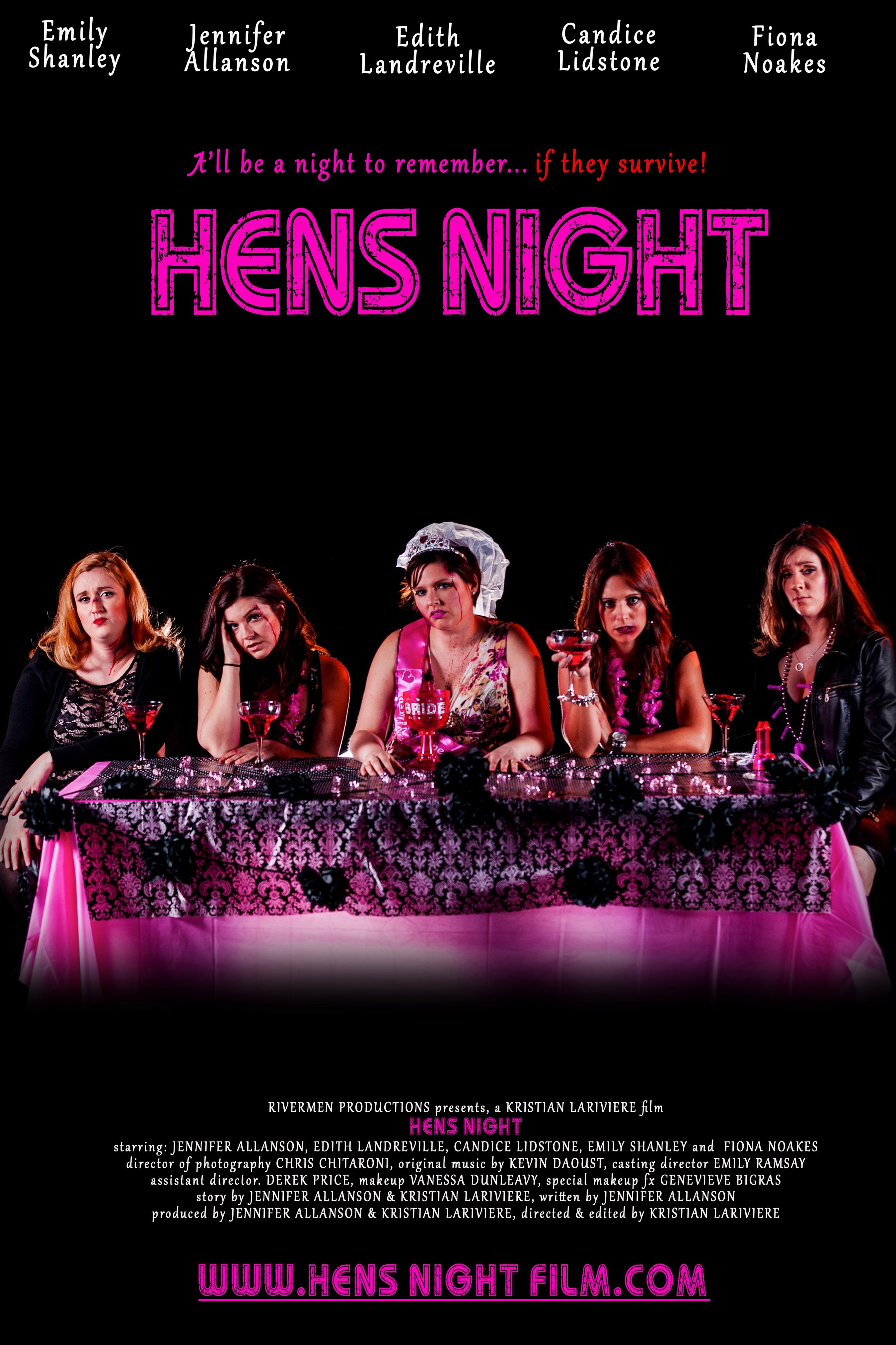 Hens Night poster