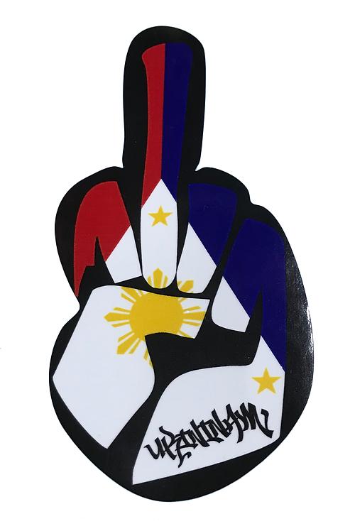 Fa9 Ukininam Filipino Flag Finger