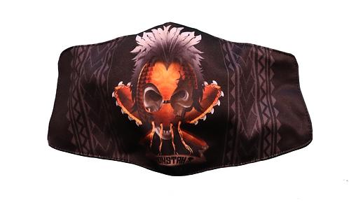 "Monstah face mask ""Warrior"""