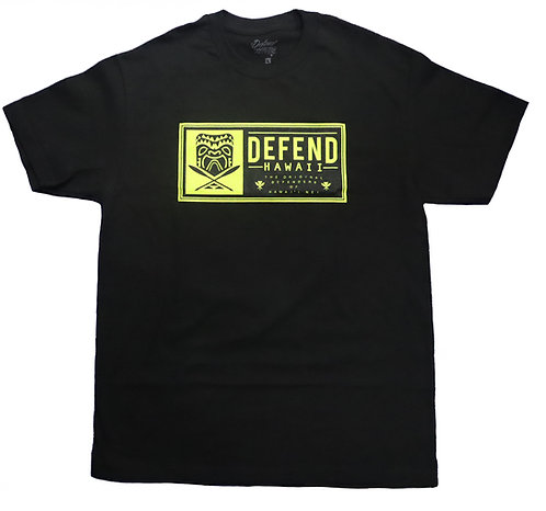 "Defend Hawaii ""Defenders Of Hawai'i Nei"" Print"