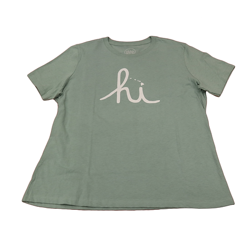 "Aloha Army Hawaii Women's ""Hi"" Teal"