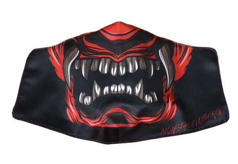 "Monstah face mask ""Oni"""