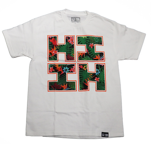 "Hawaii's Finest ""Jungle"" Logo Print"