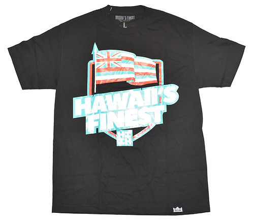 Hawaii's Finest Flag Print