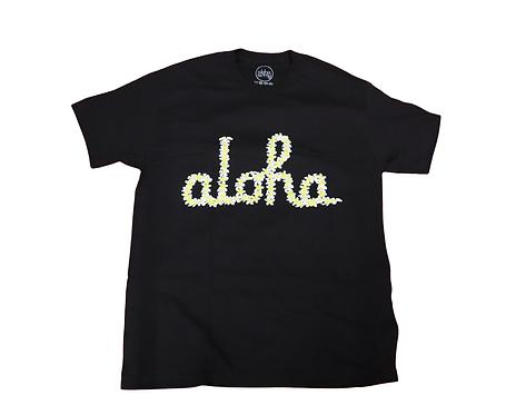 """Aloha Army """"Floral Aloha"""" Black"""