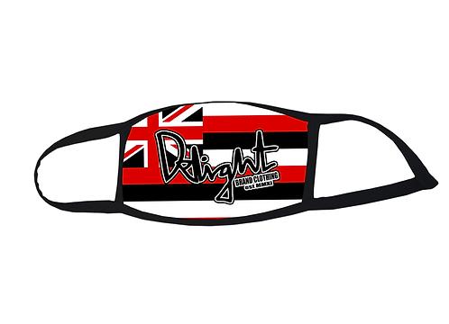 "Delight face mask ""Delight"" Hawaiian Flag"