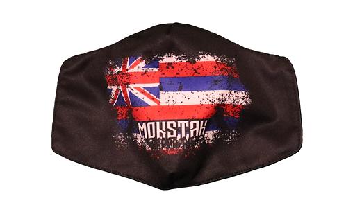 """Monstah face mask """"Hawaiian Flag"""" Ver. 2"""