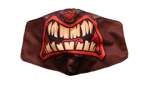 """Monstah face mask """"Tiki"""""""