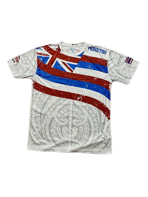 "Monstah ""Hawaiian Flag"" White"