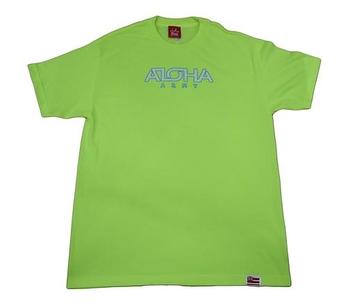 """Aloha Army """"Aloha Army"""" Neon Yellow"""