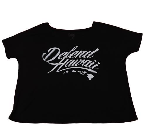 "Defend Hawaii Women's ""Defend Hawaii"" Black"