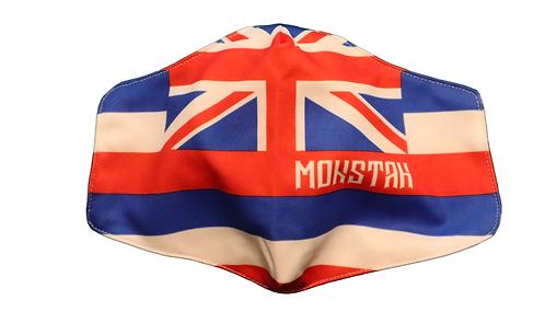 """Monstah face mask """"Hawaiian Flag"""""""
