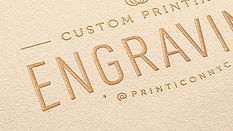 Let your print work tell your beautiful story in splendid detail. Your printing artistry will surge to the forefront with engraved black-tie-event level invitations, exquisite stationery, or high-end business cards.