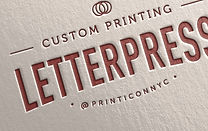 Timeless testimony to great printing artistry. Letterpress adds a high-end touch of fine design to a vast array of print work. The result is both classy and elegant.