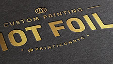 Add some dazzle and sheen to your print artistry with foil stamping. Highlight your exceptional design in shades of gold and silver, as well as metallic colors, and let your print work shine in every way.