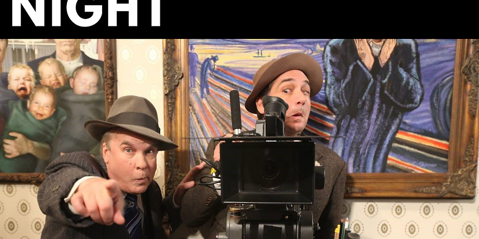 Vintage Movie Night | Biffle and Shooster