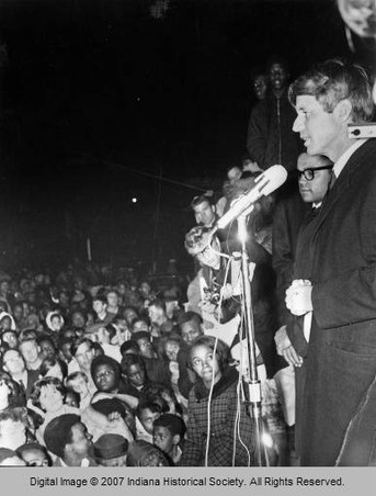Robert F. Kennedy Announcing Martin Luther King's Death