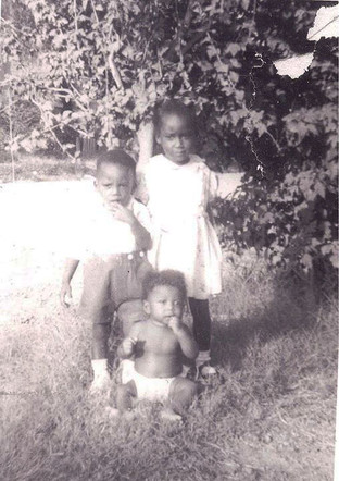 Aunt Theora, Uncle Robert Charles, and Daddy
