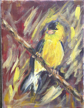 Bird in Yellow