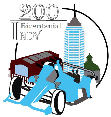 Indy Logo 200th Logo