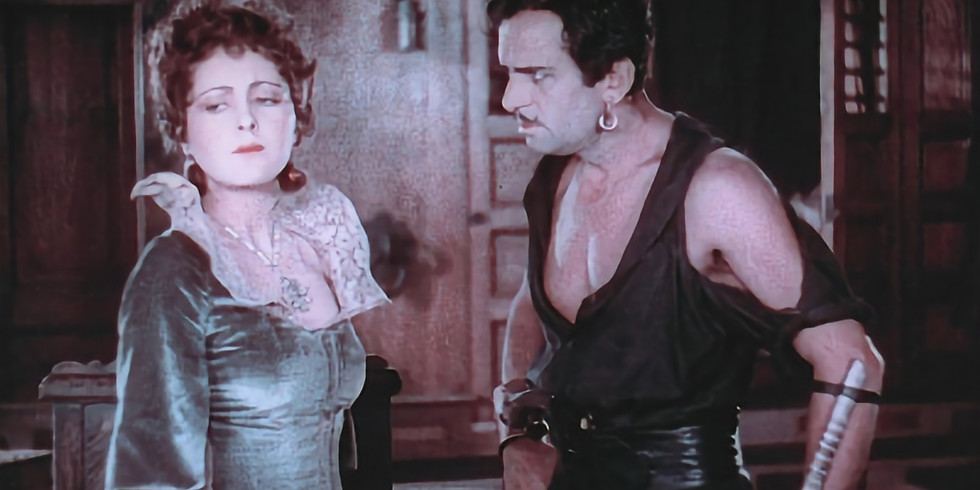 CANCELLED Vintage Movie Night: The Black Pirate (1926) – Silent Film with a Live Score